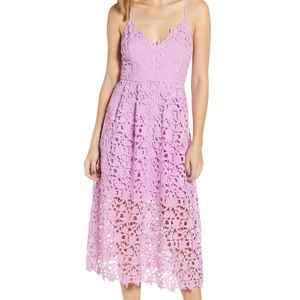 Astr the label lavender dress